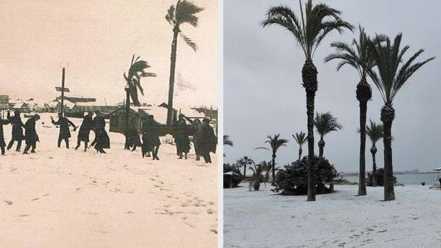 ninsoare torrevieja dupa 100 de ani