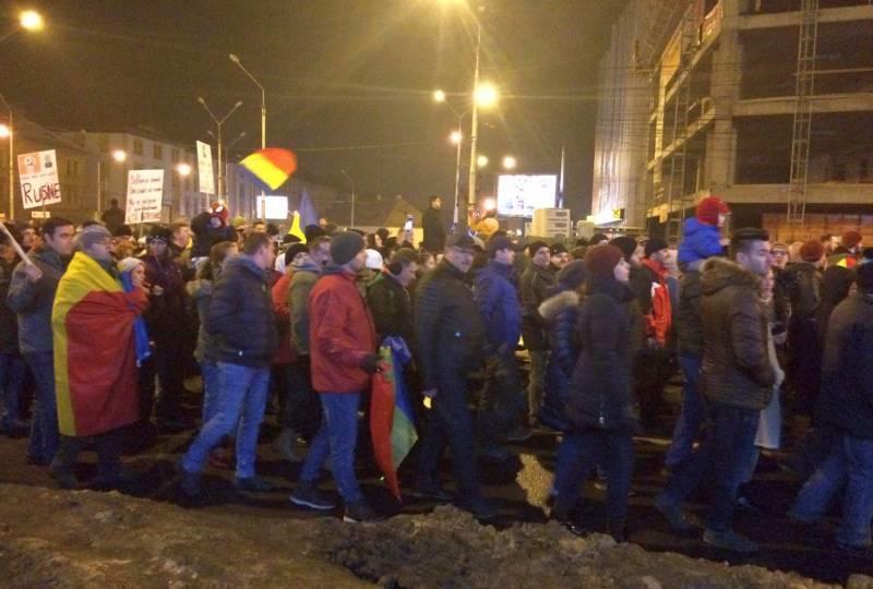 sibiu protes 2 feb 2017