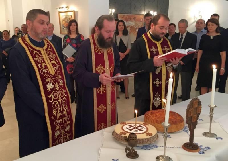 11 martie ceremonie ambasada madrid