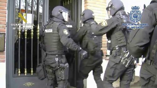 politia spaniola arestari romani1