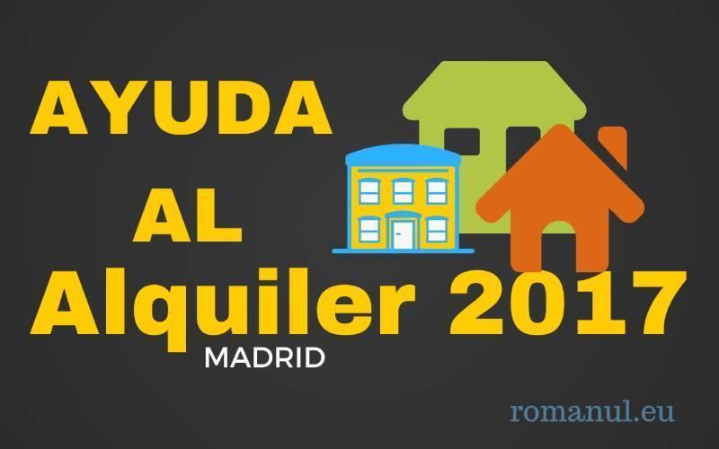 Subvenții la plata chiriei în regiunea Madrid