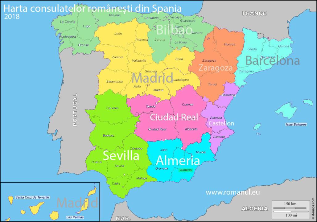 harta-circumscriptiilor-consulare-din-Spania2018