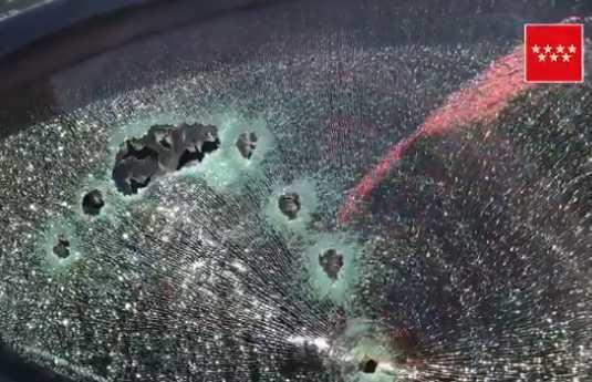 Asasinat cu 10 focuri de armă la Madrid